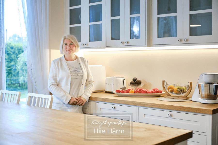 Ameerika ja Skandinaavia köögi kaks palet köögikujundaja Hiie Härm
